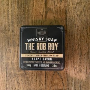 Scottish Fine Soaps 'Rob Roy' Whisky Soap