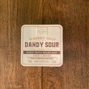 Scottish Fine Soaps 'Dandy Sour' Whisky Soap