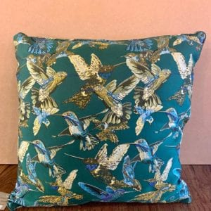 Gisela Graham Hummingbird Cushion