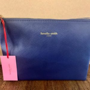 Fenella Smith Navy Wash Bag