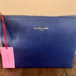 Fenella Smith Navy Wash Bag