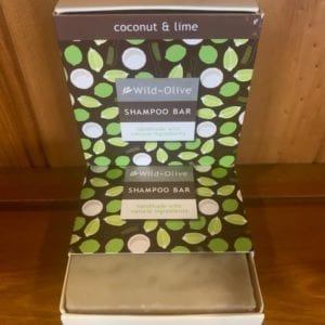Wild Olive Coconut and Lime Shampoo Bar