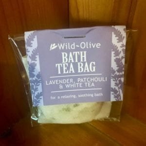 Wild Olive Lavender, Patchouli and White Tea Bag