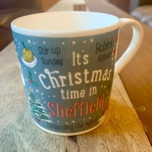 Love Your Nation Sheffield Christmas Mug