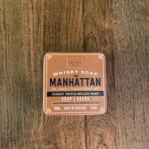Scottish Fine Soaps 'The Manhattan' Whisky Soap