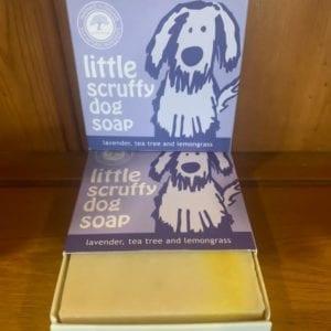 Wild Olive Little Scruffy Dog Soap