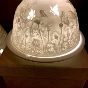 Welink Ceramic Nite Lite Holder: Thistle