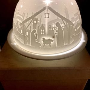 Welink Ceramic Nite Lite Holder: New Nativity