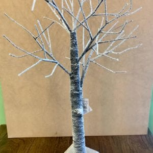 Gisela Graham Snow Covered Twig Tree Natural