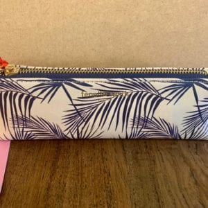 Fenella Smith Navy Palm Make-up Pencil Case