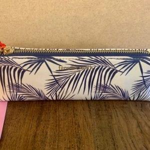 Fenella Smith Navy Palm Make-up Pencil Case