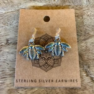 Funky Sprout BEE Earrings