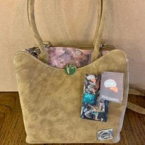 Hi-Di-Hi HD01 Camel Leaf Handbag, 25.5x28x10cm