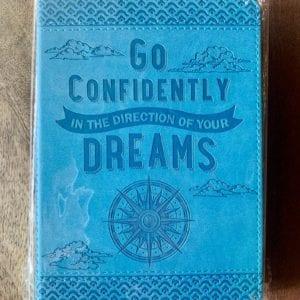 Peter Pauper Press 'Go Confidently' Journal