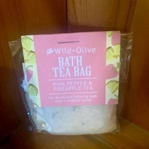 Wild Olive Pink Pepper and Pineapple Tea Bag