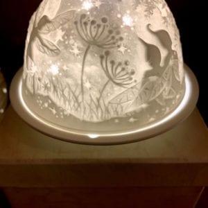 Welink Ceramic Nite Lite Holder: Night Fairies
