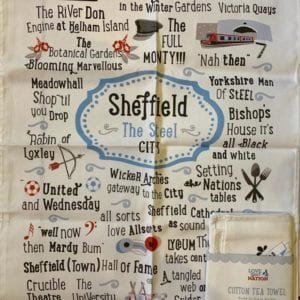 Love Your Nation Sheffield Tea Towel