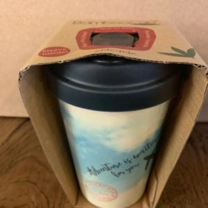 Blue Eyed Sun 'Adventure Clouds' Eco Bamboo Cup