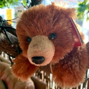 Aurora Mini Flopsie Grizzly Bear 8″