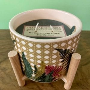 SIL TRELLIS Scented Candle Pot on Stand