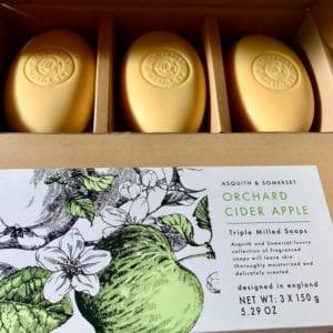 Somerset Soaps 'Orchard Cider Apple' 3 Soap Gift Set