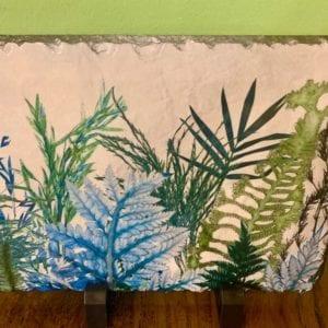 Gillian Arnold Slate Art 'Forage'