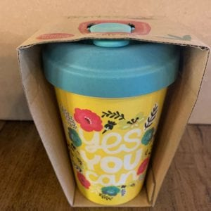 Blue Eyed Sun 'Yes You Can' Eco Bamboo Cup