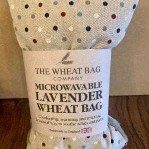 Wheat Bag Co. Lavender Wheat Bag Multi Dottie