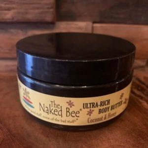 Naked Bee Coconut & Honey Body Butter 8 oz.