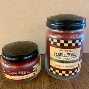 Candleberry Cinnamon Broomstick Candle Lg