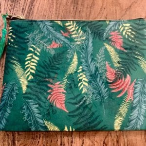 SIL FERN Make Up Bag