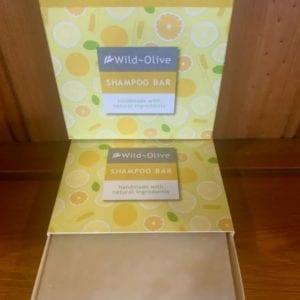 Wild Olive Grapefruit and Green Tea Shampoo Bar