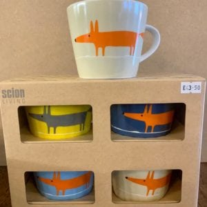 Forma House  'Scion Fox' Mugs X4 Colours