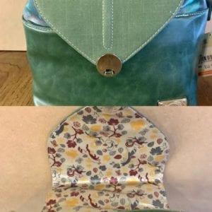 Hi-Di-Hi LK02 Forest Green Leaf Handbag, 28x28x12cm