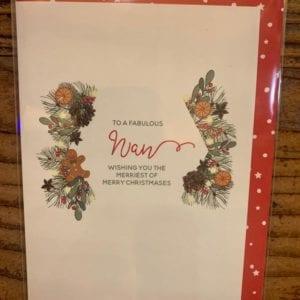 Dandelion Cards 'Christmas Nan'