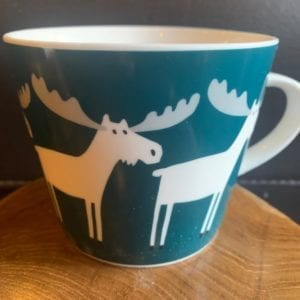 Forma House Moose Mug Forest Green