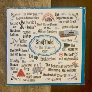 Love Your Nation Sheffield Card
