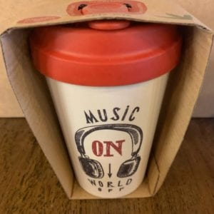 Blue Eyed Sun 'Music On' Eco Bamboo Cup
