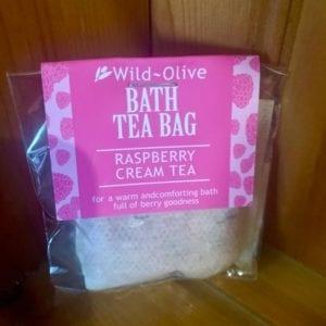 Wild Olive Raspberry Cream Tea Bag