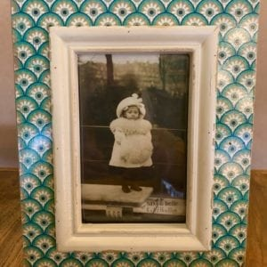 Sass & Belle Boudoir Green Photo Frame 6″ x 4″