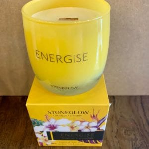 Stoneglow ENERGISE Lemon Tea & Grapefruit Candle Tumbler