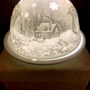 Welink Ceramic Nite Lite Holder: Robin