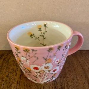 Gisela Graham Pink Daisy Mug