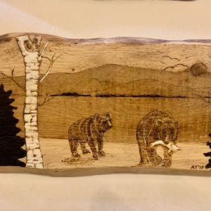 Inspyre Art Plaque: 2 Bears