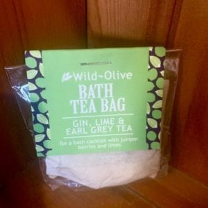 Wild Olive Gin, Lime and Earl Grey Tea Bag