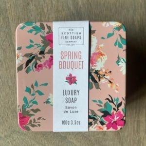 Scottish Fine Soaps 'Spring Bouquet' Luxury Soap
