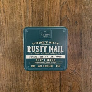 Scottish Fine Soaps 'Rusty Nail' Whisky Soap
