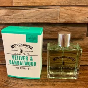 Scottish Fine Soaps Vetiver & Sandalwood EDT