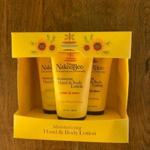 Naked Bee Hand and Body Lotion Trio