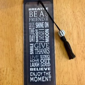 Peter Pauper Press 'Believe' Bookmark